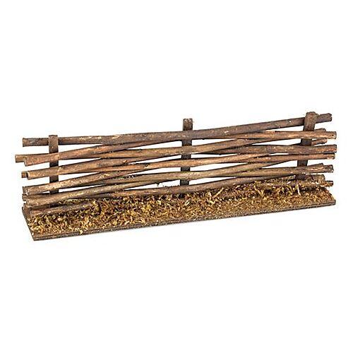 Zaun aus Holz, 20 x 4,5 x 6,5 cm