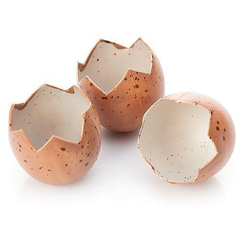 Eierschalen, 5 x 4 cm, 8 Stück