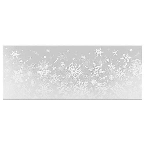 """Fensterbild """"Schneeflocke"""", 20,5 x 53 cm"""