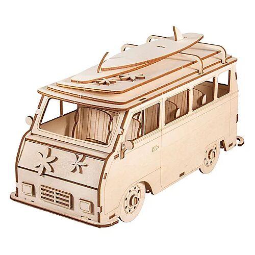 "Holzbausatz 3D ""Campingbus"", 30 x 13 x 17 cm"