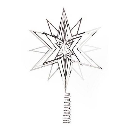"""Christbaumspitze """"3-D-Stern"""" aus Metall"""