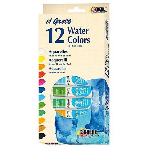 C. Kreul Aquarellfarben, 12 x 12 ml