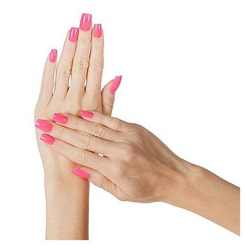 """Fingernägel """"Neon Pink"""""""