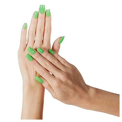 """Fingernägel """"Neon Green"""""""