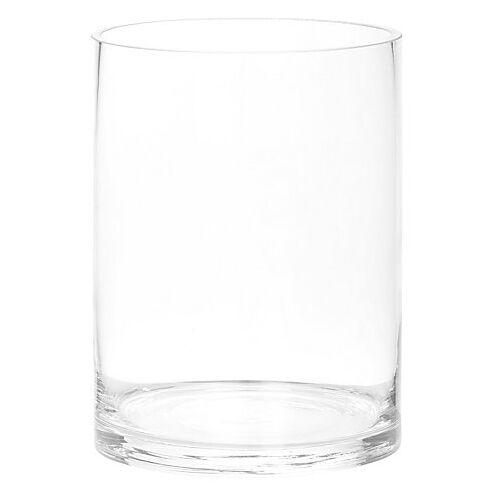 Glasvase, rund, 20 cm, 14,5 cm Ø