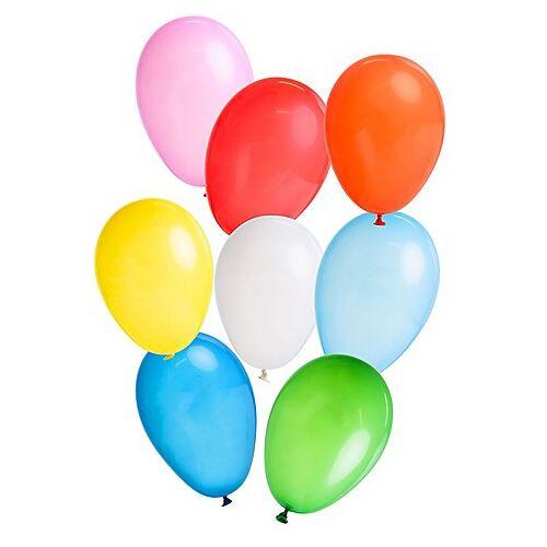 "Luftballons ""bunt"", Ø 20 cm, 100 Stück"