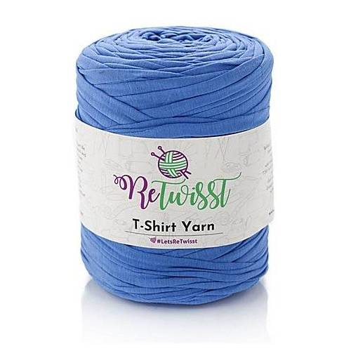 Textilgarn, blau, 500 g