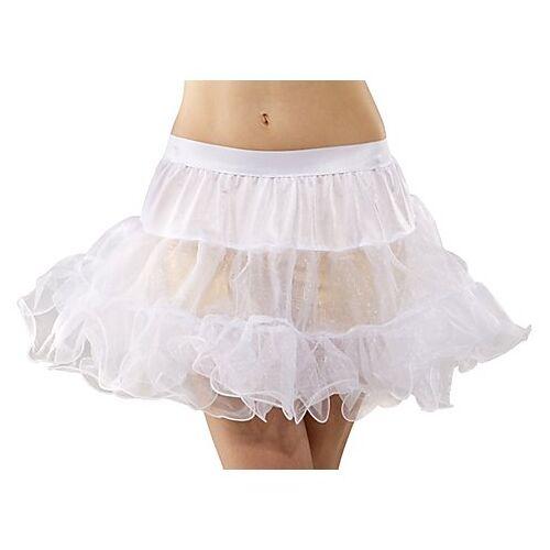 Soft-Tüll Petticoat, weiß, 3-lagig