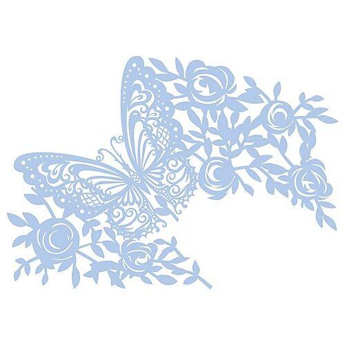 """Maskier-Schablone """"Schmetterling"""", 21 x 29,7 cm"""