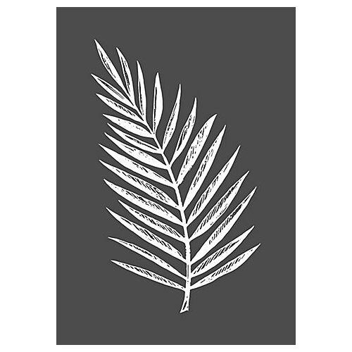 "Rayher Siebdruck-Schablone ""Palmenblatt"", 14,8 x 21 cm"