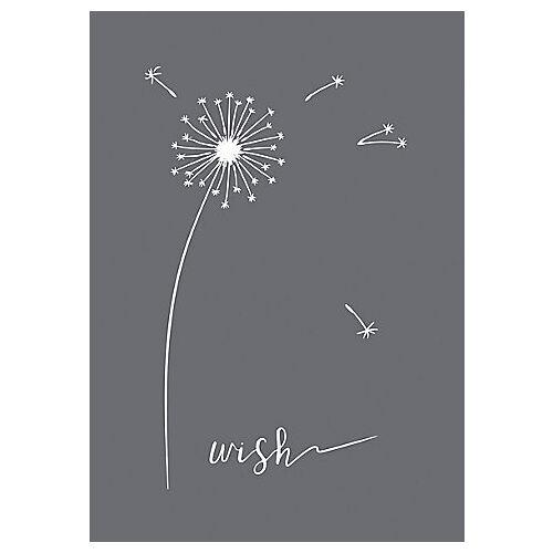 """Rayher Siebdruck-Schablone """"Wish"""""""