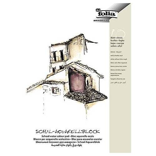 Folia Schul-Aquarellblock DIN A3