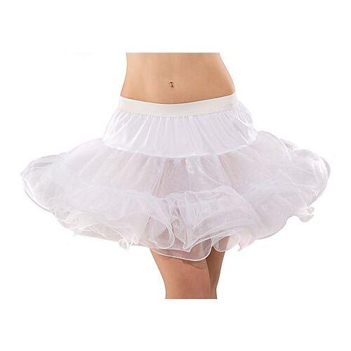 Soft-Tüll Petticoat, weiß, 5-lagig