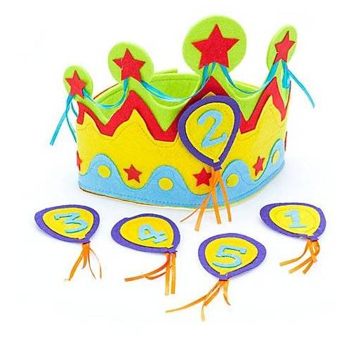 Geburtstagskrone für Kinder