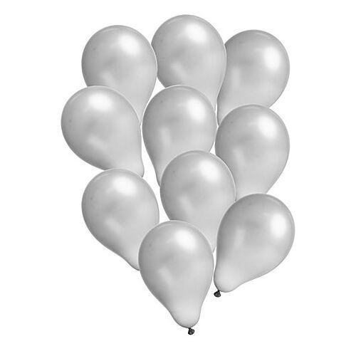 """Luftballons """"Metallic"""", silber, 10 Stück"""