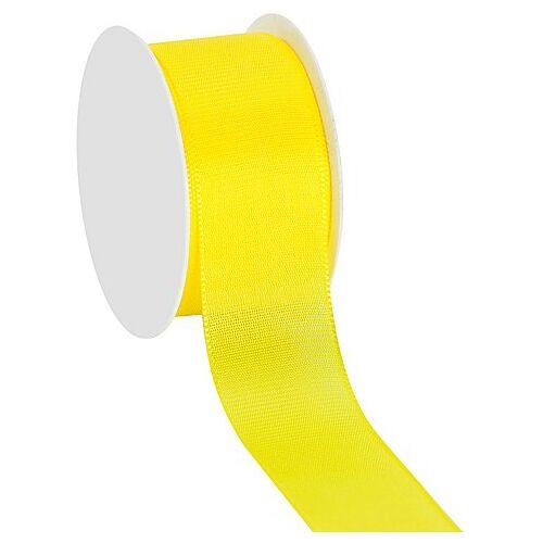 Stoffband, gelb, 40 mm, 10 m