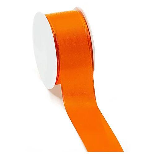 Stoffband, orange, 40 mm, 10 m