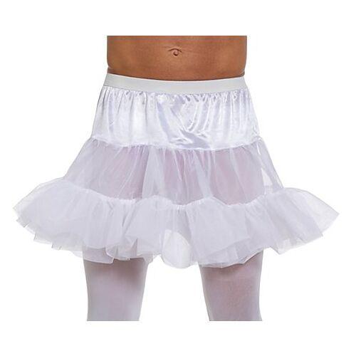Petticoat für Herren, weiß