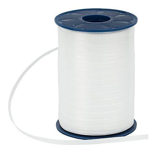 Geschenkband, weiß, 5 mm, 500 m