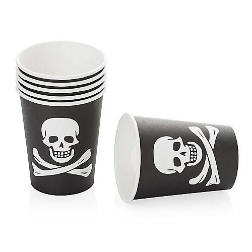 """Pappbecher """"Pirat"""", 6 Stück"""