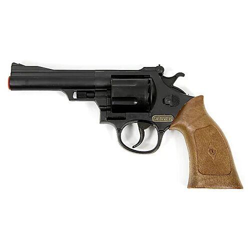 """Braun Spielzeugpistole """"Cowboy"""", schwarz/braun"""
