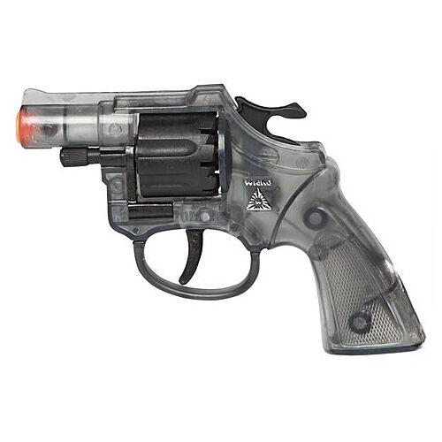 Spielzeugpistole Lady-Colt, transparent/schwarz