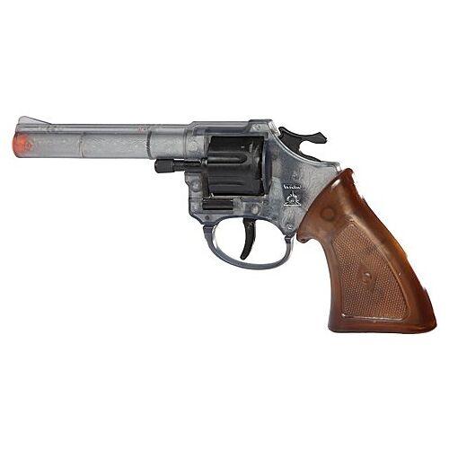 Braun Spielzeugpistole Cowboy, transparent/braun