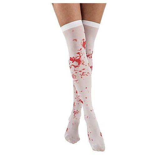 Strümpfe mit Blutspritzer