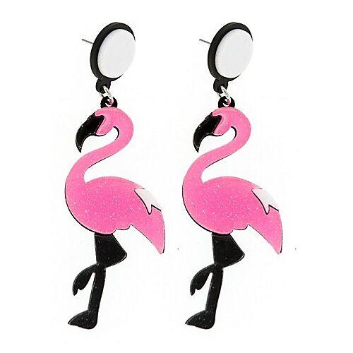 "Ohrstecker ""Flamingo"""