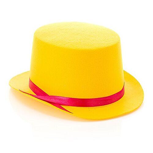 Zylinder für Kinder, gelb