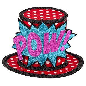 "ART buttinette Mini-Hütchen Pop Art ""Pow!"""