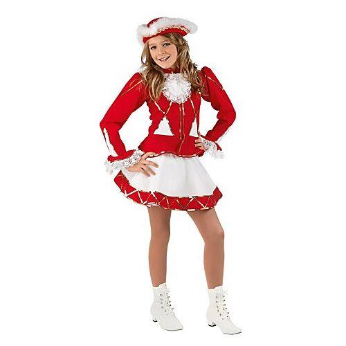 Gardekostüm für Kinder, rot/weiß
