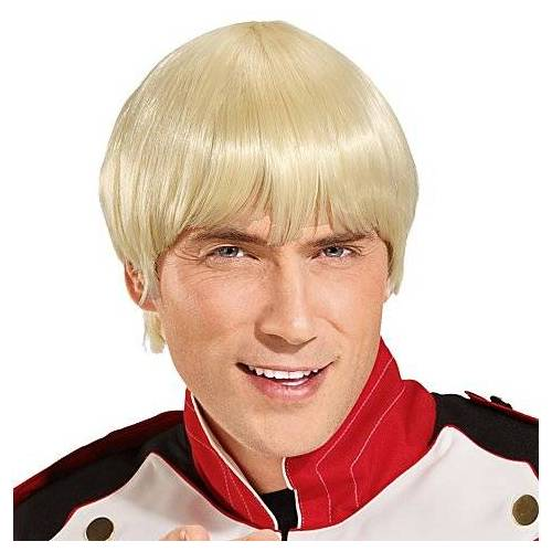 """Perücke """"Pilzkopf"""", blond"""