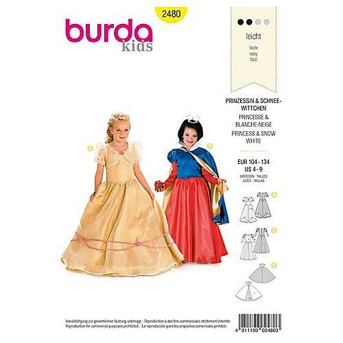 "burda Schnitt 2480 ""Prinzessin"""