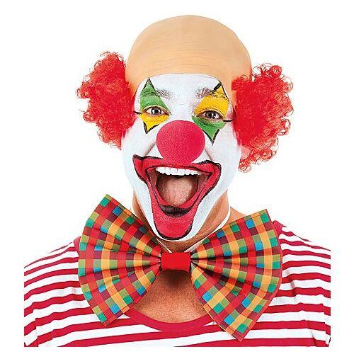 "Perücke Halbglatze ""Clown"", rot"