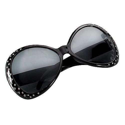 Riesenbrille Puck, schwarz