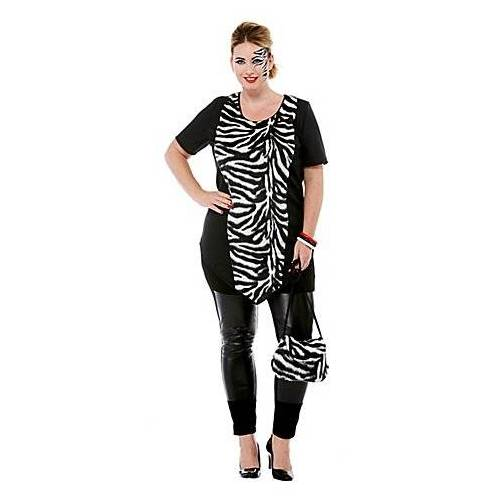 Zebra-Kostüm für Damen