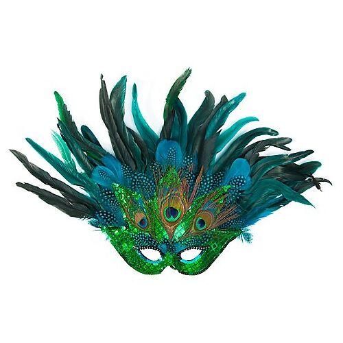 """Venezianische Maske """"Pfau"""""""
