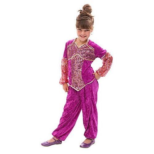 Bauchtänzerin Kostüm für Kinder, pink