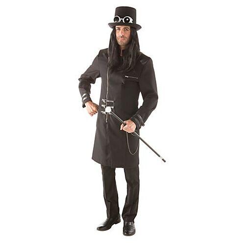 Hochwertiger Steampunk Mantel für Herren