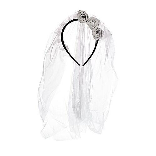 Brautschleier, grau