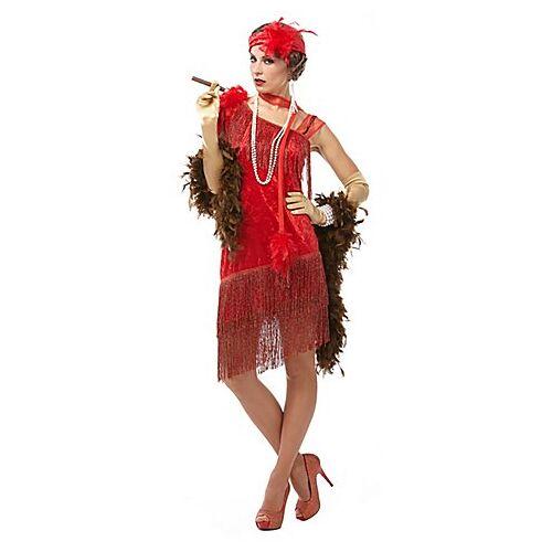 Charleston Kleid, rot