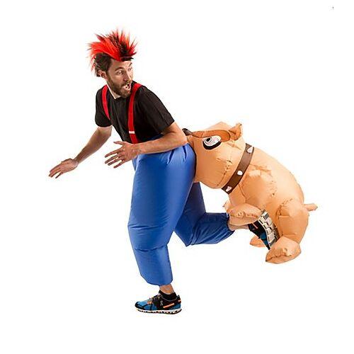 """Aufblasbares Kostüm """"beißender Hund"""""""