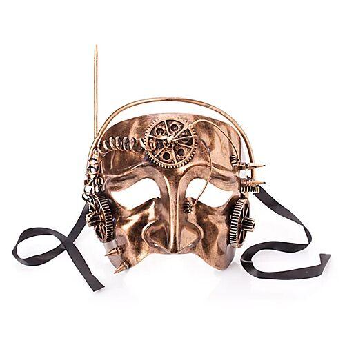 "Steampunk Maske ""Stream"""
