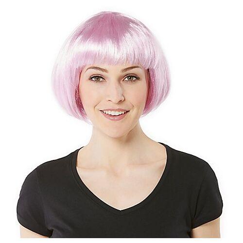 Candy Bob-Perücke, rosa
