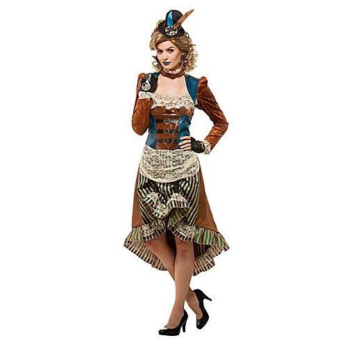 """Steampunk-Kleid """"Victory"""" für Damen"""