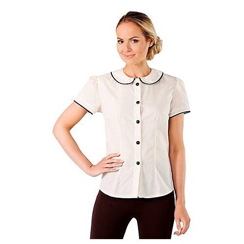 40er-Jahre-Bluse für Damen