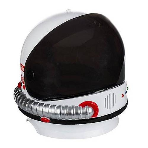 Astronauten-Helm, weiß