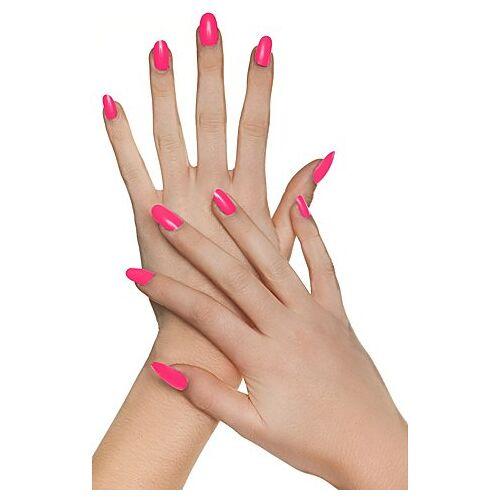 Fingernägel, pink