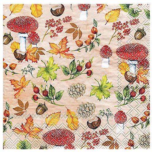 """Papierservietten """"Herbst"""", 33 x 33 cm, 20 Stück"""